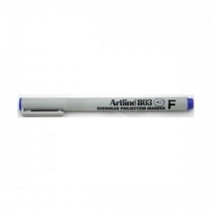 poza OHP Non-Permanent marker fine -  0.5mm, ARTLINE 803 - albastru