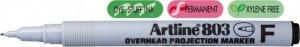 poza OHP Non-Permanent marker fine -  0.5mm, ARTLINE 803 - negru