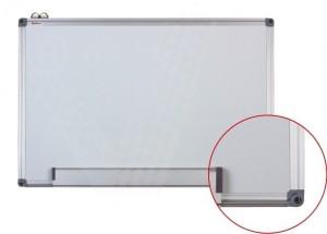 poza Whiteboard magnetic cu rama din aluminiu, 120 x 180 cm, Optima