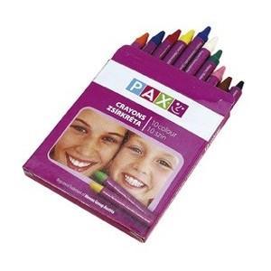 poza Creioane cerate 10 culori PAX