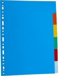poza Separatoare carton color 180g/mp, 5/set, Optima