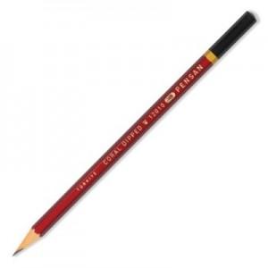 poza Creion cu mina grafit, HB, hexagonal, PENSAN Coral