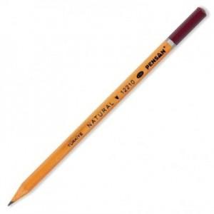 poza Creion cu mina grafit, HB, hexagonal, PENSAN Natural