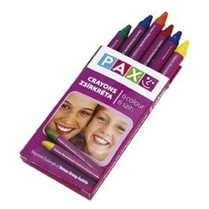 poza Creioane cerate 6 culori PAX