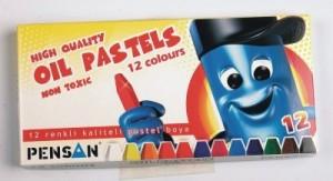 poza Creioane colorate, cerate, 12 culori/set, PENSAN