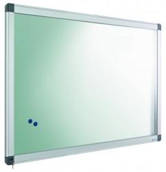 poza Avizier interior/exterior Recto, tabla alba magnetica, 24 x A4, 90 x 169 cm, SMIT