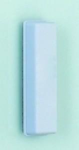 poza Burete magnetic extra strong, pentru table de sticla, din pasla alba, SMIT