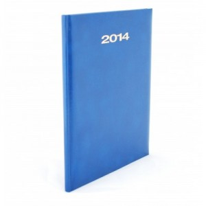 poza Agenda 2015, zilnica datata, A4, albastru, HERLITZ TUCSON