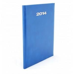 poza Agenda 2014, saptamanala datata, A4, albastru, HERLITZ