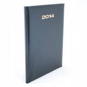poza Agenda 2014, saptamanala datata, A4, negru, HERLITZ