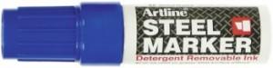 poza Marker industrial, varf tesit 4-6mm, ARTLINE Steel - albastru