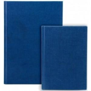 poza Registru A5, 96 file 70g/mp, coperti carton rigid, Business Blue - dictando