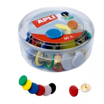 poza Pioneze colorate 50buc/cutie, Apli