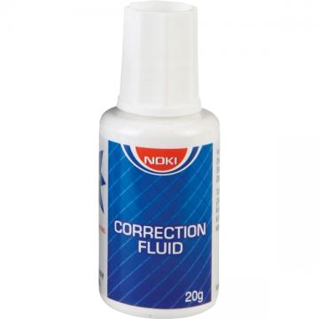 poza Fluid corector cu pensula pe baza de solvent 20 ml, NOKI