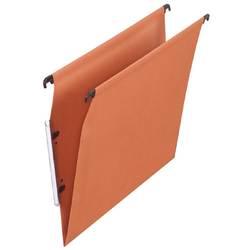 poza Dosar suspendabil cu eticheta laterala,  ELBA, kraft orange