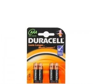poza Baterii R3 AAA 4buc/set DURACELL