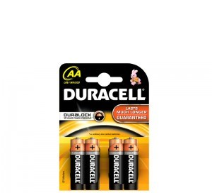 poza Baterii R6 AA 4buc/set DURACELL