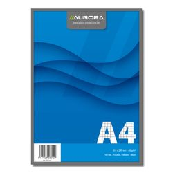 poza Bloc notes capsat A4 Aurora Office 100 file-Dictando/Matematica