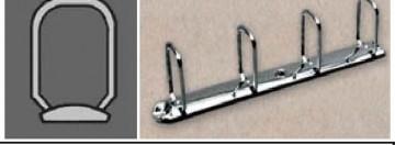 poza Mecanism rectangular pentru caiet mecanic Q 280/04/25