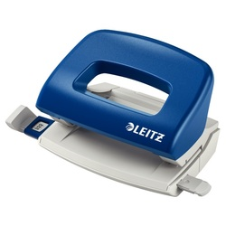 poza Perforator plastic 10 coli Leitz 5058 albastru
