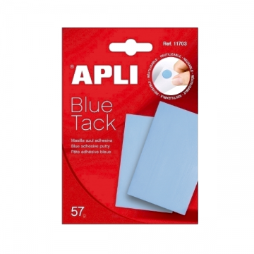 poza Pastile autoadezive Apli, albastre, 57 g