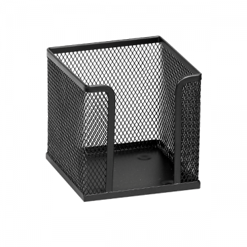poza Suport metalic pentru cub hartie Memoris-Precious - negru