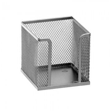 poza Suport metalic pentru cub hartie Memoris-Precious - argintiu