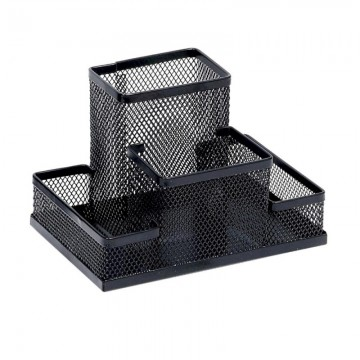 poza Suport metalic pentru accesorii biorou Memoris-Precious - negru