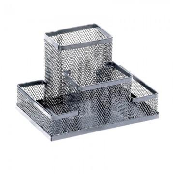 poza Suport metalic pentru accesorii biorou Memoris-Precious - argintiu