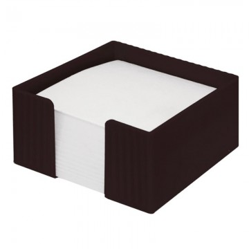 poza Suport plastic pentru cub hartie Flaro negru