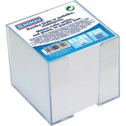 poza Cub hartie alb cu suport plastic, 92x92x82mm, DONAU