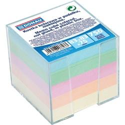 poza Cub hartie color cu suport plastic, 92x92x82mm, DONAU