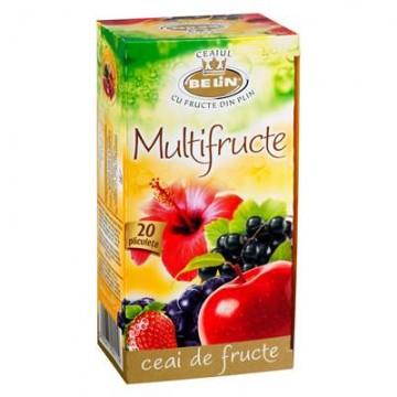 poza Ceai Belin, multifructe, 20 plicuri/cutie