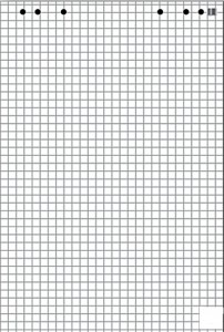 poza Rezerva caiet mecanic A5, 60 file, 70gr/m2 M Book & Block