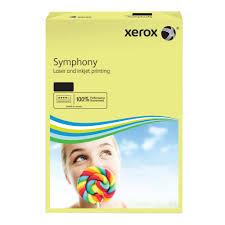 poza Hartie color, A3, 80 g/mp, galben deschis, 500 coli/top, XEROX Symphony