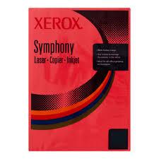 poza Carton color, A4, 160 g/mp, rosu inchis, 250 coli/top, XEROX Symphony