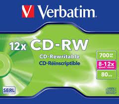 poza CD-RW, 700MB, 8-12X, carcasa jewel, VERBATIM