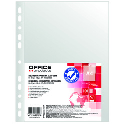 poza Folie protectie A4, 30 microni, 100buc/set, Office Products