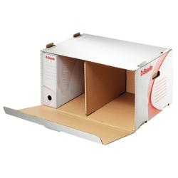 poza Container arhivare, deschidere laterala ESSELTE - alb