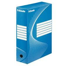 poza Cutie arhivare 10 cm, ESSELTE - albastru
