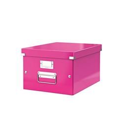 poza Cutie arhivare medie LEITZ Click & Store- roz