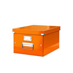 poza Cutie arhivare medie LEITZ Click & Store - portocaliu