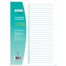poza Separator plastic numere 1-31 EXXO