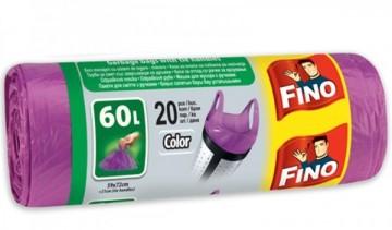 poza Saci menaj  60L, 20buc/rola, color Fino