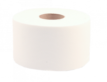poza Hartie igienica mini jumbo alba, 2 str, 250gr/mp, 12 role/bax