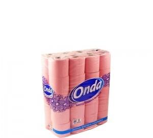 poza Hartie igienica 2str, 40role/bax, Onda roz