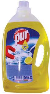 poza Pur detergent lichid vase Lemon 4.5L