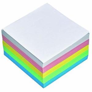 poza Cub hartie color 9 x 9cm, 500 coli, hartie 80g, folie plastic