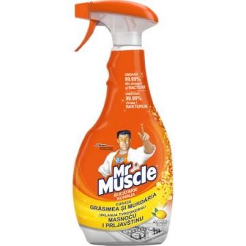 poza Mr.Muscle solutie pentru bucatarie cu pulverizator 750ml